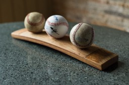 3 Baseball Display