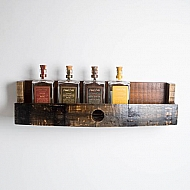 Bourbon Barrel Bottle Shelf