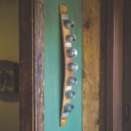 Banded Wine Barrel Spice Rack