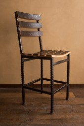 Barrel Stave Chair with Back, 24""