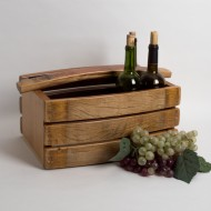 Small Wine Barrel Basket