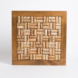 Bulletin board-square corked, Provincial