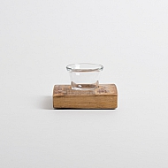 Natural Wine Barrel Votive