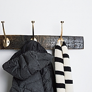 the Whiskey Neat Coat Rack