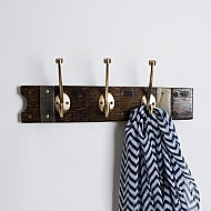 Modern Gold Wine Barrel Coat Rack