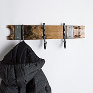 Small Forged Hook Coat Rack