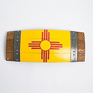 New Mexico Barrel Stave Flag