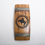 Rodeo Wine Barrel Wall Art