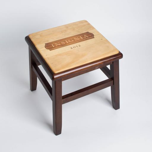 Step Stool, INSIGNIA, Dark Walnut Base
