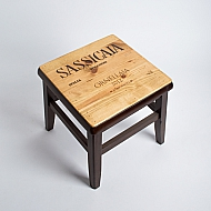 Sassicaia Crate Step Stool