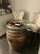 Cork & Barrel Table