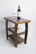 Wine Stave Side Table