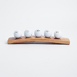 5 Ball Golf Ball Display