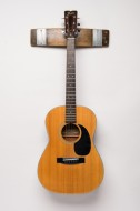 Napa Valley Wine Barrel Guitar Rack, Natural Finish