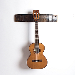 Boubon Barrel Guitar Rack, Natural Finish