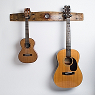 Double Guitar Rack with Bunghole