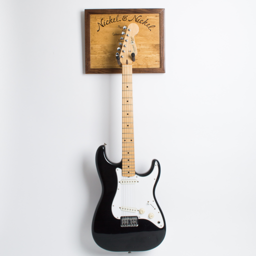 Wine Crate Guitar Rack, Golden Oak, Walnut Frame