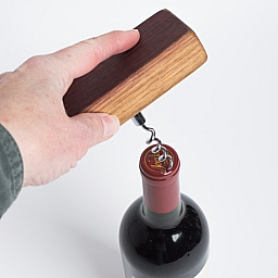 Corkscrew, Authentic Wine Barrel Handle