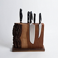 Live Edge Knife Rack