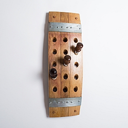 Wall Mount Wine Stopper Rack