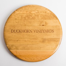 "Lazy Susan, 16"", DUCKHORN VINEYARDS, Golden Oak"