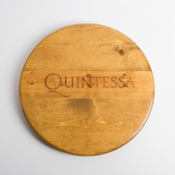 "Lazy Susan, 16"", QUINTESSA, Golden Oak"