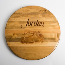 "Lazy Susan, 20"", JORDAN,  Golden Oak"
