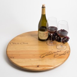 "Lazy Susan, 20"", OPUS ONE, Golden"