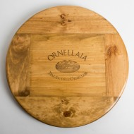 Large Ornellaia Wine Crate Lazy Susan