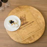 Large Stag's Leap Crate Lazy Susan
