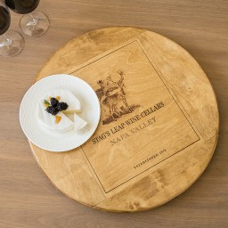 "Lazy Susan, 20"", STAGS LEAP, Golden, Image, Napa"