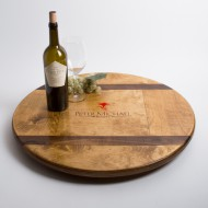 Peter Michael Wine Crate Lazy Susan