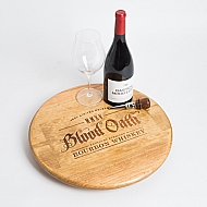 Blood Oath Bourbon Crate Lazy Susan
