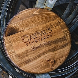 "Lazy Susan, 16"", CAYMUS, Provincial, California"