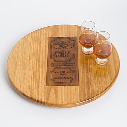 "Lazy Susan, 16"", EAGLE RARE BOURBON WHISKEY, Golden Oak, Kentucky"