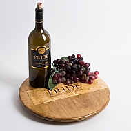 Pride Mountain Vineyards Crate Lazy Susan
