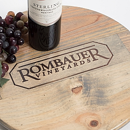 "Lazy Susan, 16"", ROMBAUER, Weathered Gray"