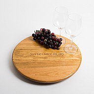 Silver Oak Crate Lazy Susan