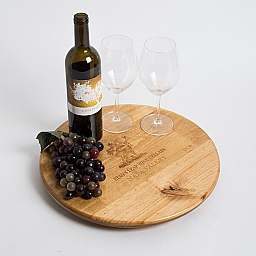 "Lazy Susan, 16"", STAGS LEAP, Golden, Image, Napa"