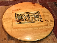 Large Avignonesi Crate Lazy Susan