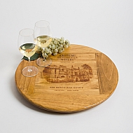 Large Chateau Montelena Crate Lazy Susan