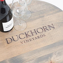 "Lazy Susan, 20"", DUCKHORN VINEYARDS, Weathered Gray"
