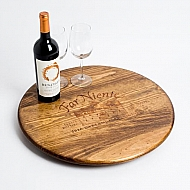 Large Far Niente Crate Lazy Susan