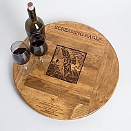 Screaming Eagle Crate Lazy Susan
