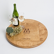 V. Madrone Crate Lazy Susan