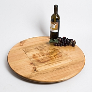 Oversize Chateau Montelena Crate Lazy Susan
