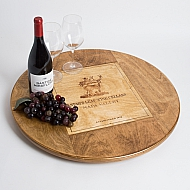Oversize Stag's Leap Crate Lazy Susan