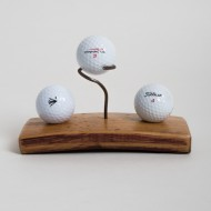 Golf Ball Display with Center Pin