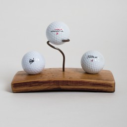 Mini Golf Ball Display with Center Pin