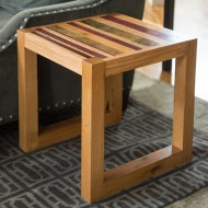 Modern Linear End Table